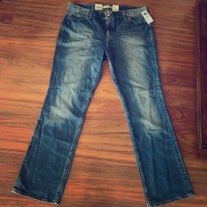 Tinted authentic slim fit gap jeans